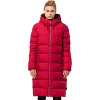 Jack Wolfskin Womens Crystal Palace Coat - Ruby Red
