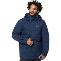 Jack Wolfskin Mens Takamatsu 3 in 1 Jacket - Dark Indigo