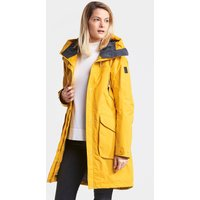 Didriksons Womens Thelma Parka Jacket - Oat Yellow