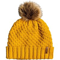 Roxy Womens Blizzard Beanie Hat - Spruce Yellow
