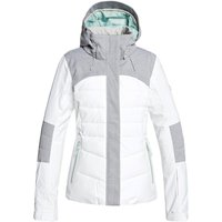 Roxy Womens Dakota Ski Jacket - Bright White