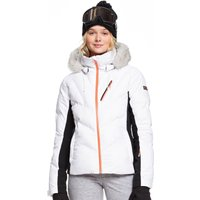 Roxy Womens Snowstorm Ski Jacket - Bright White