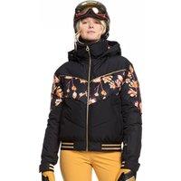 Roxy Womens Torah Bright Summit Ski Jacket - True Black Magnolia