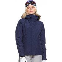 Roxy Womens Jet Ski Solid Ski Jacket - Medieval Blue