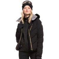 Roxy Womens Snowstorm Plus Ski Jacket - True Black