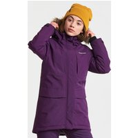 Didriksons Girls Jamila Parka Jacket - Berry Purple