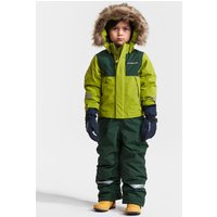 Didriksons Kids Tirian Coverall - Seagrass Green