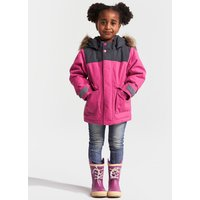 Didriksons Kids Kure Parka Jacket - Plastic Pink