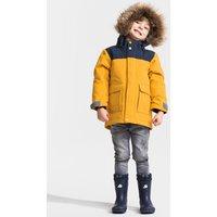 Didriksons Kids Kure Parka Jacket - Oat Yellow