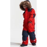 Didriksons Kids Bjornen Coverall - Chili Red