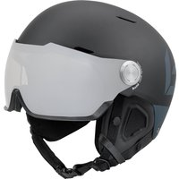 Bolle Might Visor Premium Ski Helmet with Visor - Matte Black and Grey