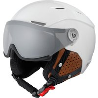 Bolle Backline Visor Premium Ski Helmet - Shiny Galaxy White