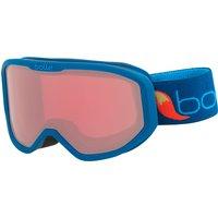 Bolle Kids Inuk Ski Goggle - Matte Blue Fox with Vermillon Lens