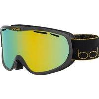 Bolle Womens Sierra Ski Goggle - Shiny Black Gold with Sunshine Lens