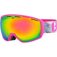 Bolle Womens Laika Ski Goggle - Matte Pink Hawai with Rose Gold Lens
