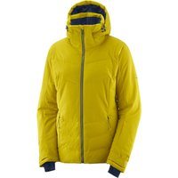 Salomon Womens Icepuff Ski Jacket - Golden Palm