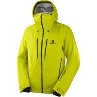 Salomon Mens Icestar 3L Shell Ski Jacket - Citronelle