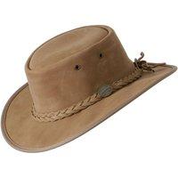 Barmah Foldaway Bronco Hat - Hickory