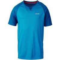 Berghaus Mens Tech Tee 2 SS Crew T Shirt - Adriatic Blue