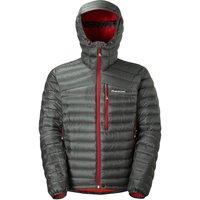 Montane Mens Featherlite Down Jacket - Shadow Alpine Red