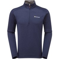 Montane Mens Forza Pull On Fleece - Antarctic Blue