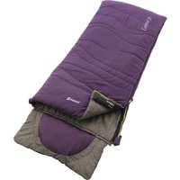 Outwell Contour Jnr Sleeping Bag - Eggplant Purple