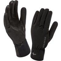 SealSkinz Mens Sea Leopard Glove - Black