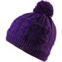 SealSkinz Waterproof Cable Knit Beanie Hat - Purple