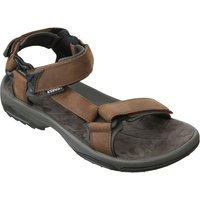 Teva Mens Terra Fi Lite Leather Sandal - Brown