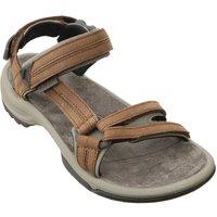 Teva Womens Terra Fi Lite Leather Sandal - Brown