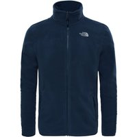 The North Face Mens 100 Glacier Full Zip Fleece - Navy