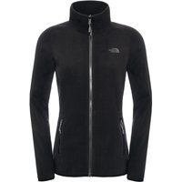 The North Face Womens 100 Glacier Full Zip Fleece - TNF Black