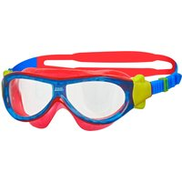 Zoggs Phantom Kids Mask - Blue/Red/Clear