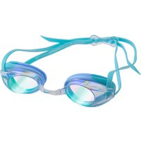 Nike Junior Remora Mirror Goggle - Blue Iridescent