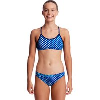 Funkita Girls Vapour Scale Racerback Two Piece