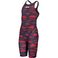 Arena Girls Limited Edition Powerskin ST 2.0 Full Body Short Leg - Blue and Red
