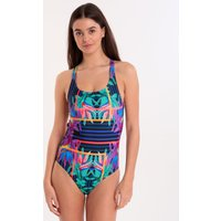 FiT Swim Blue Paradise Kylie Elite Swimsuit