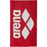 Arena Pool Towel - Black/Grey