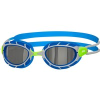 Zoggs Predator Mirror Junior Goggle - Purple/White/Mirror