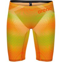 Arena Powerskin Carbon Air 2 Jammer - Lime and Orange