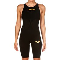 Arena Powerskin Carbon Air 2 Full Body Short Leg - Black and Gold