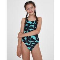Speedo Girls Endurance 10 Akira Crane Crossback Swimsuit