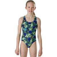 Speedo Girls Endurance 10 Maneki Meow Splashback Swimsuit