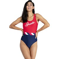 Speedo Endurance 10 Shoreline U Back Swimsuit - Red