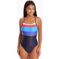 Zoggs Pop Block T Back Swimsuit