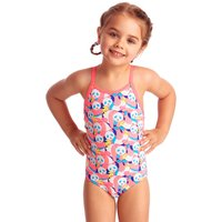 Funkita Tots Girls Eco Pink Panda Swimsuit