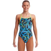 Funkita Girls Sucker Punch Eco Diamond Back Swimsuit