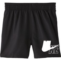 Nike Boys Solid 4 inch Volley Swim Short - Black
