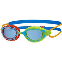 Zoggs Junior Predator Goggle - Blue/Red/Lime/Tinted