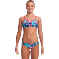 Funkita Girls Club Tropicana Criss Cross Bikini
